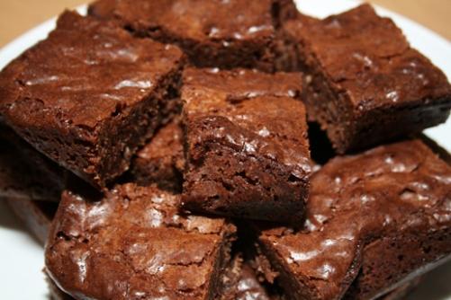 Brownies, bocaditos de chocolate