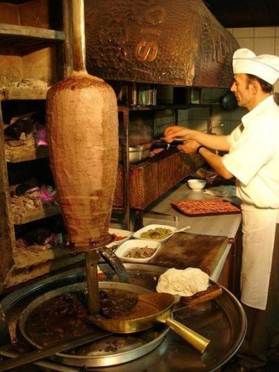 Kebab estilo tradicional