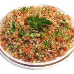 Tabulé, ensalada de cuscús