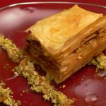 Baklava, un tradicional dulce de Turquía