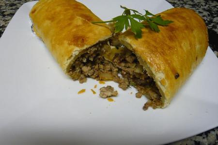 Briwat de carne picada, receta marroquí
