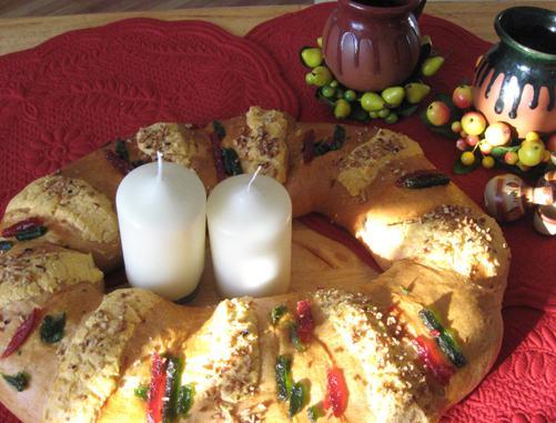 Rosca de Reyes, un dulce religioso
