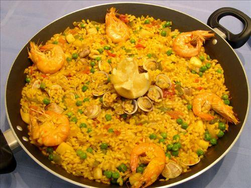 Receta de paella plato t pico valenciano for Cena original y sencilla