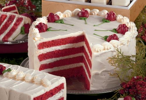 Pastel rojo, para disfrutar en San Valentín