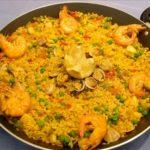 Receta de Paella, plato típico de Valencia