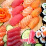 El sushi japonés y sus variedades