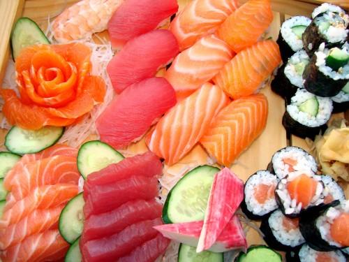 El sushi japones y sus variedades