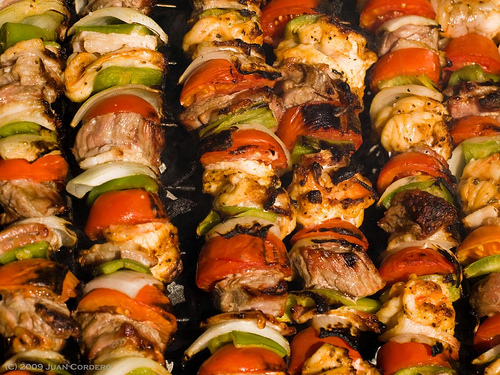 Las brochetas en la gastronom a francesa for Comidas francesas famosas