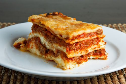 Lasa a italiana receta sabrosa for Different kinds of lasagna recipes