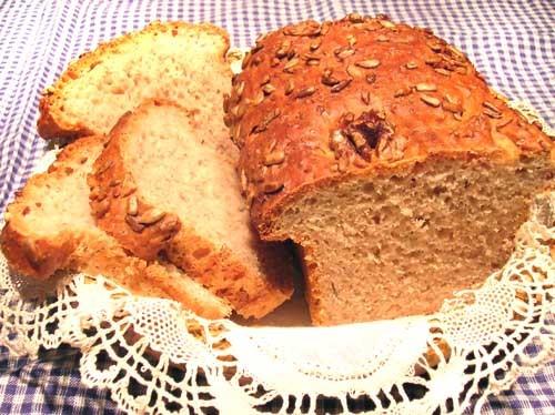 Cómo hacer pan blanco e integral con semillas