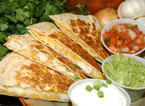 Quesadillas en la gastronomía de México