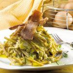 Revuelto de gramajo, deliciosa comida Argentina