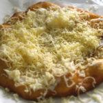 Desde Hungría, el delicioso pan lángos