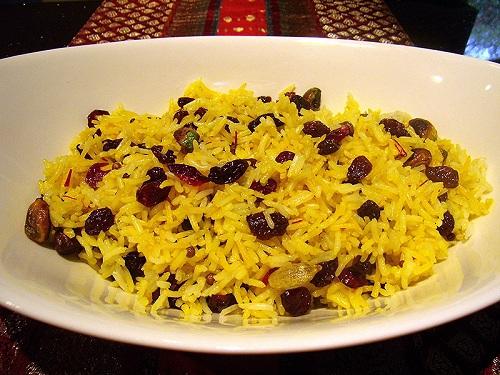 Preparar arroz dulce de Irán