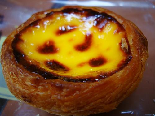 Puding de huevos con bacon a la portuguesa