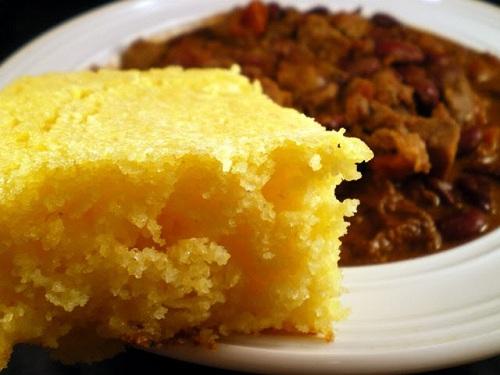 Pan de maiz, receta del sur de Norteamérica