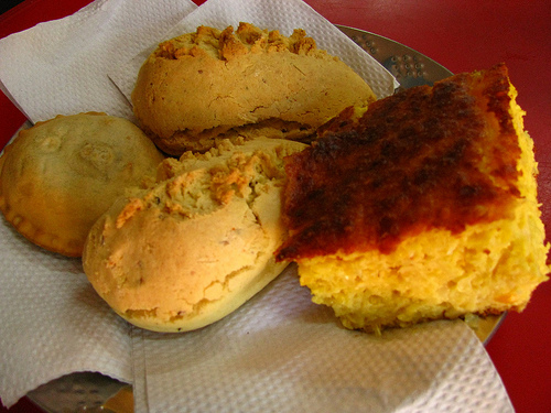 Chipa guazú paraguayo