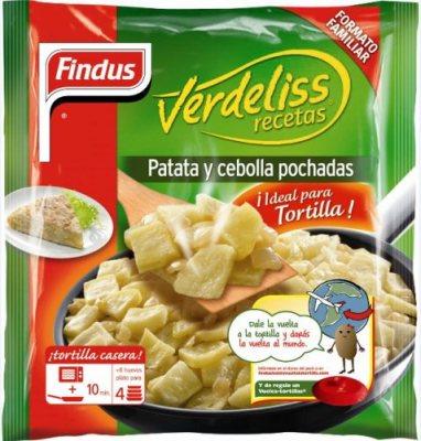 Findus Verdeliss Patatas y Cebollas Pochadas