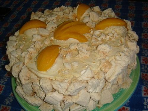 Postre chajá, dulce delicia uruguaya