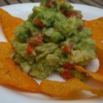 Nachos mexicanos, triángulos de tortilla