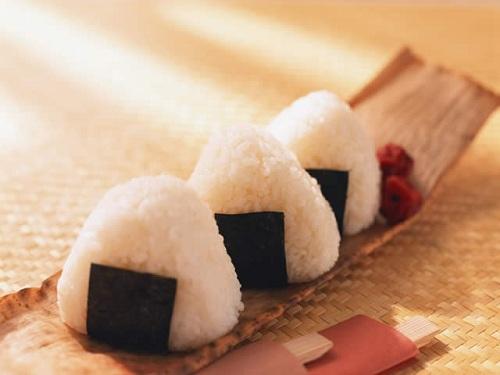 Onigiri, bolas de arroz japonesas