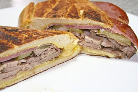 Sándwich cubano, bocadillo de Cuba