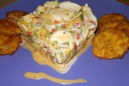Ceviche de Palmito, gastronomía de Ecuador