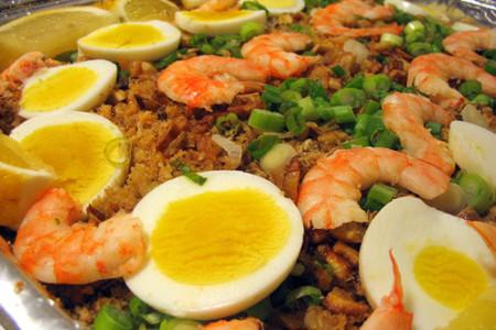 Receta de Pancit Malabon, plato típico de Filipinas