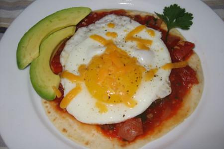 Huevos a la Ranchera con frijoles, de Guatemala