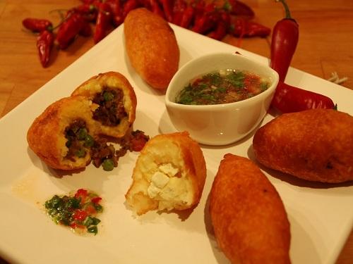 Carimañola, frito tipico de Panamá