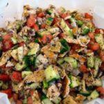 Fattoush, cocina Palestina
