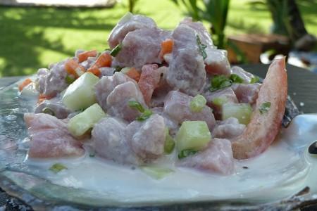 Poisson Cru, receta de la Polinesia Francesa