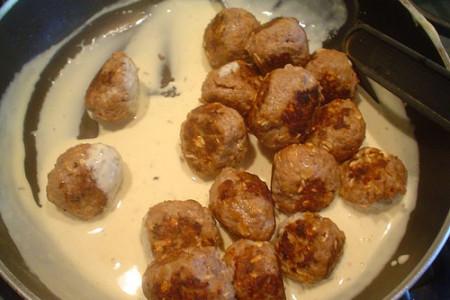 Albóndigas con crema ácida de Senegal