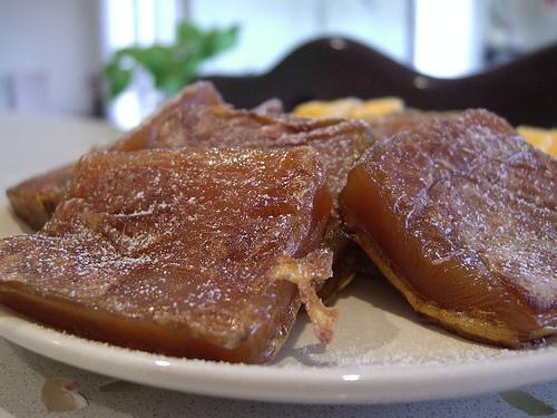 Nian gao, pastel de arroz japonés