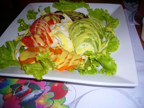 Ensalada de chonta, receta de Perú