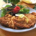 Wiener Schnitzel, famoso plato en Austria