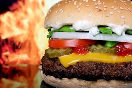 Hamburguesa con queso, icono de Estados Unidos