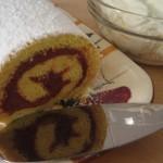 Brazo de reina, pastel relleno de Chile
