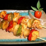 Yakitori, brochetas de pollo japonesas