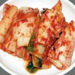 El kimchi, guarnición típica de Corea