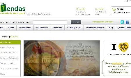 eTendas, tienda gourmet con productos de la tierra