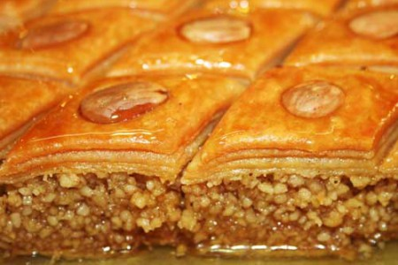 Baklawas, dulce típico de Túnez