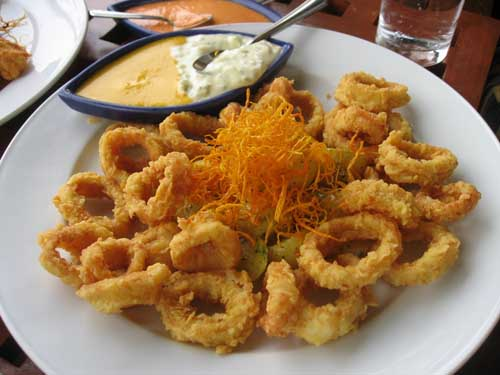 Chicharron de pulpo