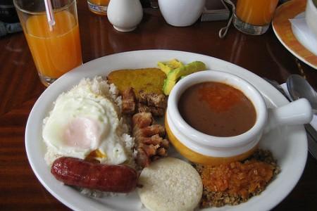 La rica gastronomía colombiana