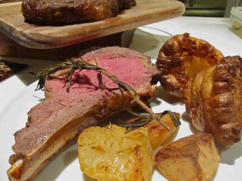 roast Beef Pudding Yorkshire