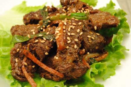Bulgogi, ternera marinada al estilo coreano