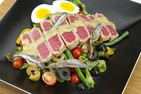 Cocina francesa for Ensalada francesa